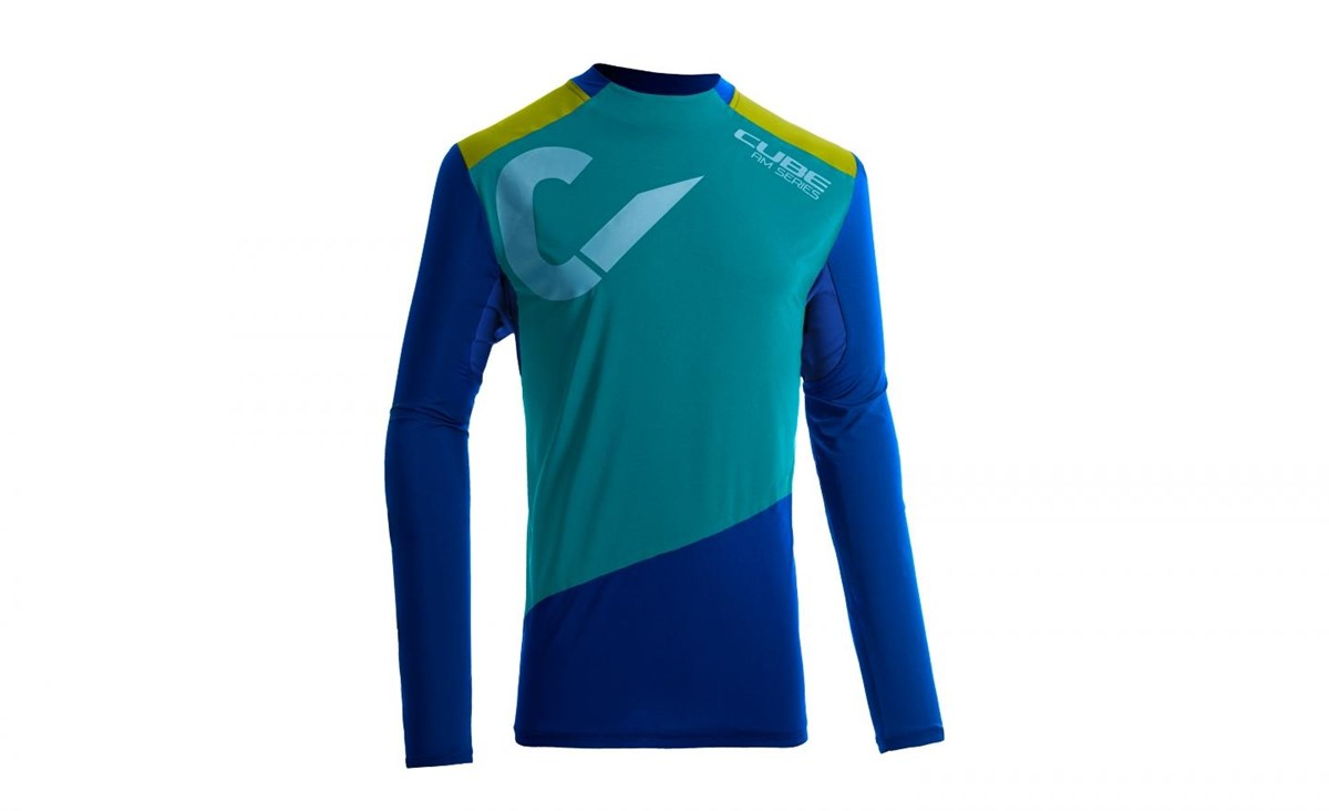 Cube All Mountain Roundneck Long Sleeve Cycling Jersey