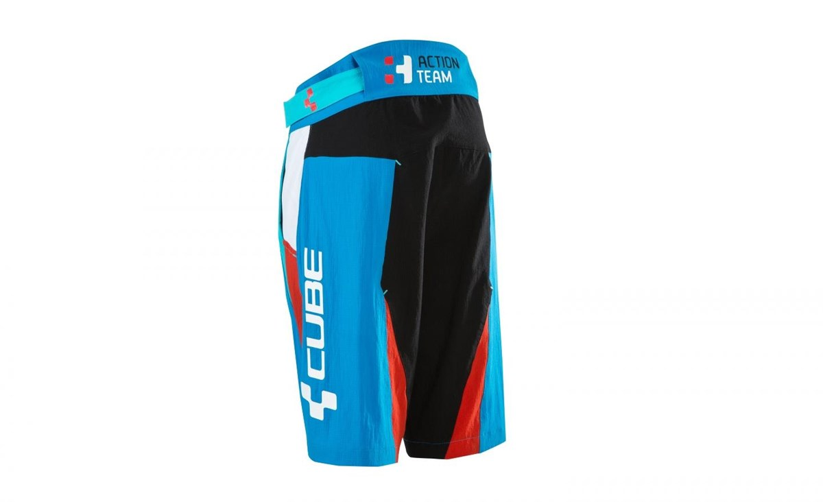 Cube Junior Action Team Cycling Shorts Without Inner Shorts