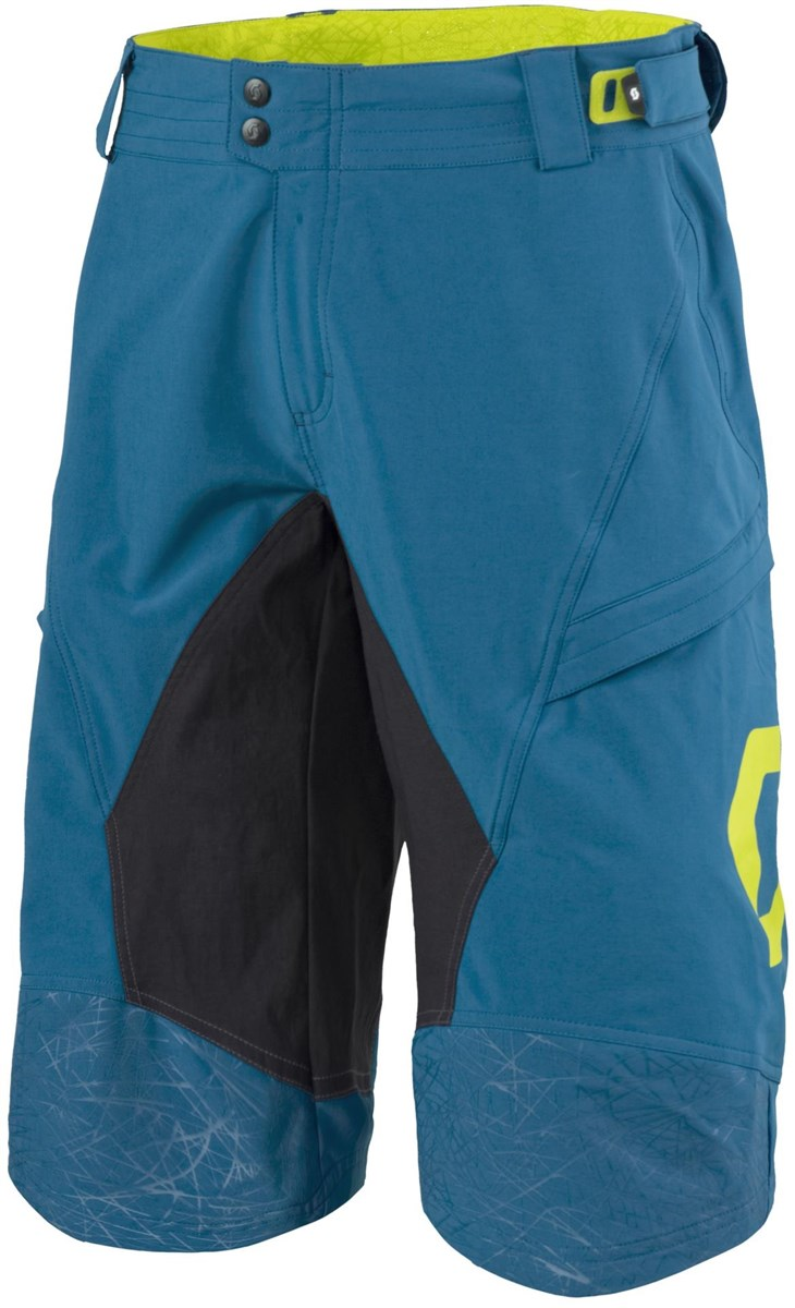 Scott Progressive Pro Baggy Cycling Shorts With Pad
