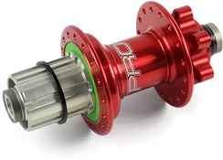 Hope Pro 4 Rear Hub - Red