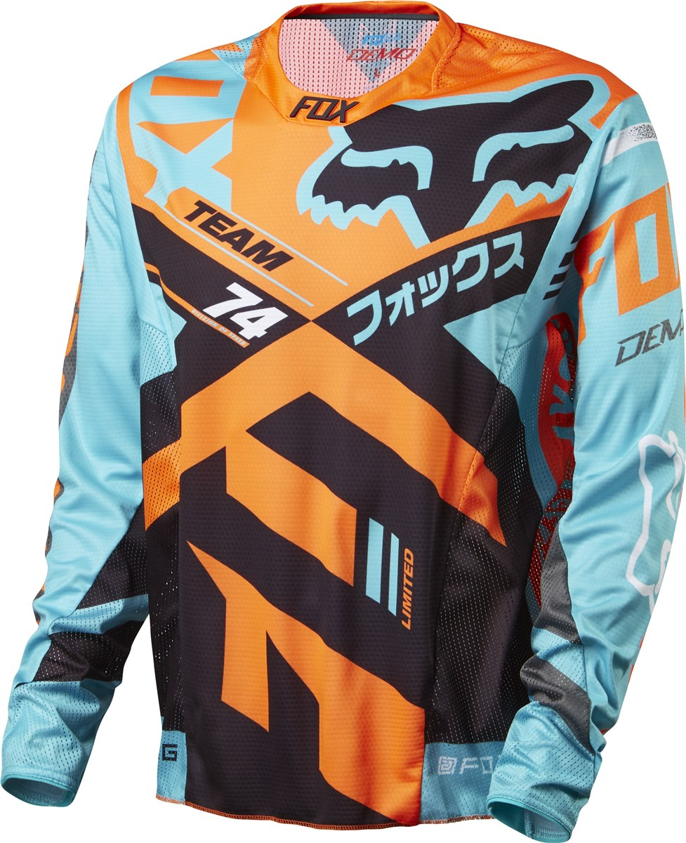 Fox Clothing Demo DH Long Sleeve Jersey SS16