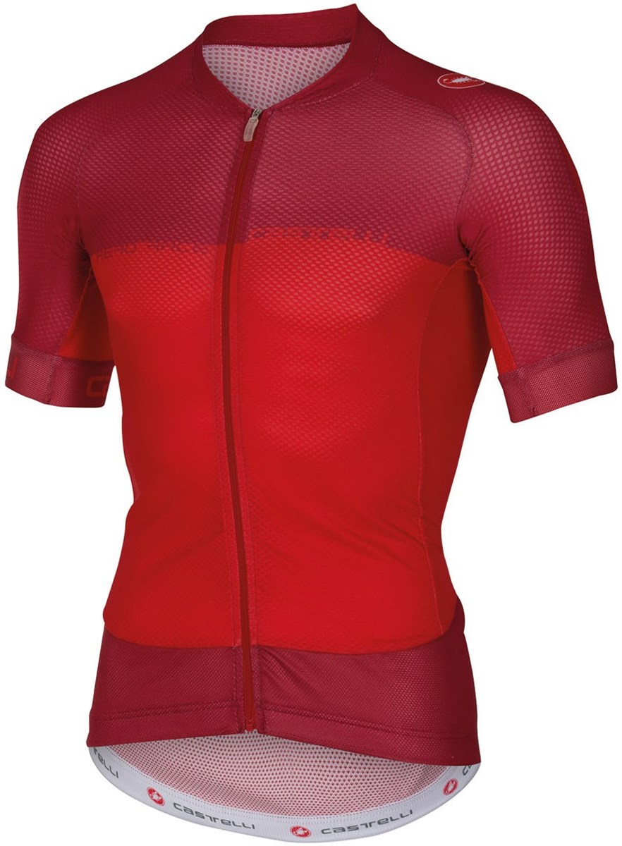 Castelli Aero Race 5.1 FZ Short Sleeve Cycling Jersey With Full Zip SS16