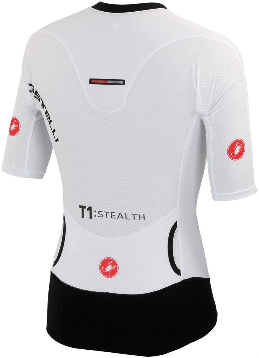 Castelli T1: Stealth Top Short Sleeve Cycling Jersey SS16