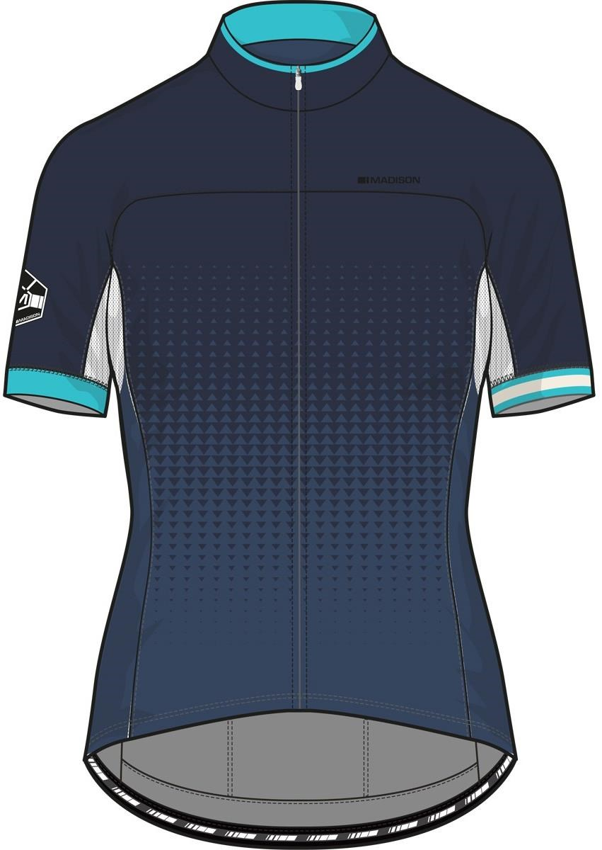 Madison Sportive Race Womens Short Sleeve Jersey AW16