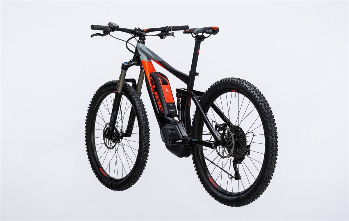 "Cube Stereo Hybrid 140 HPA Pro 500 27.5""  2017 Electric Mountain Bike"