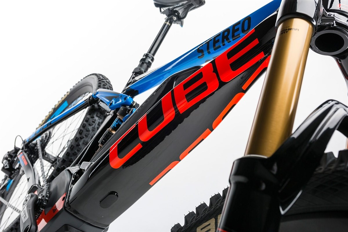 "Cube Stereo Hybrid 160 HPA Action Team 500 27.5""  2017 Electric Mountain Bike"