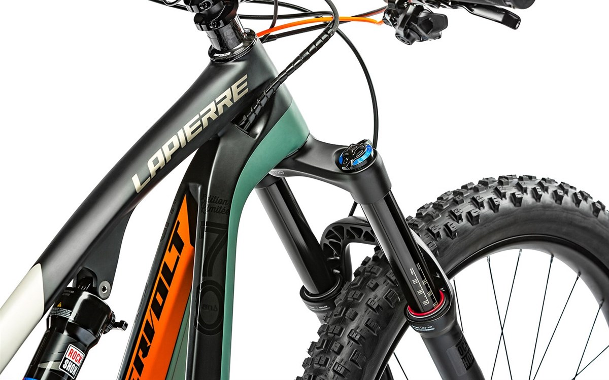 Lapierre Overvolt AM 70th Carbon  2017 Electric Mountain Bike