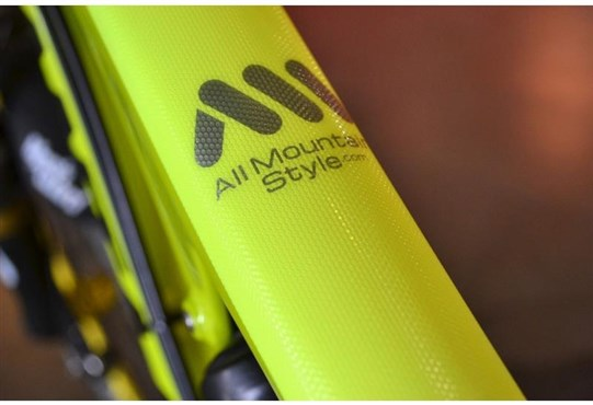 AMS XL Honeycomb Frame Guard - Neon