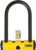 Image of Abus U-Mini 401 D Lock - Sold Secure Gold