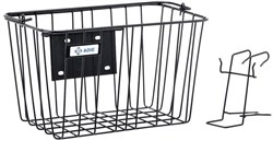 Image of Adie Large Front Basket with Holder