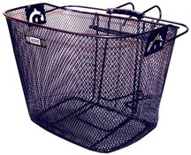 Image of Adie Mesh Basket With Metal Bracket