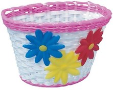 Image of Adie PVC Wicker Effect Basket