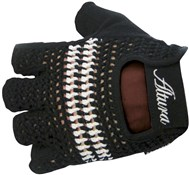 Image of Altura Classic Crochet Mitt Short Finger Cycling Gloves SS16