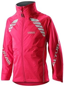 Image of Altura Night Vision Childrens Waterproof Cycling Jacket AW16
