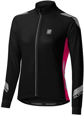 Image of Altura Night Vision Commuter Womens Long Sleeve Cycling Jersey AW16