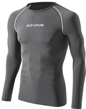 Image of Altura Second Skin Long Sleeve Cycling Base Layer AW16