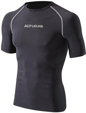 Image of Altura Second Skin Short Sleeve Cycling Base Layer AW16