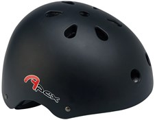 Image of Apex BMX Helmet - Matt Black