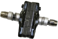 Image of Avid Shorty Cross Brake Pads & Holder - Pair