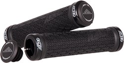 Image of Azonic Logo Lock On Grips - 130 mm