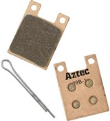 Image of Aztec Sintered Disc Brake Pads For Hope Open / Closed 2-piston (Pro / Sport)