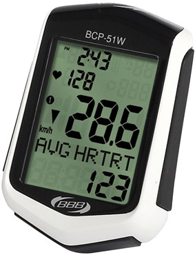 Image of BBB BCP-51WH - DigiBoard 22 Function with Heart Rate Wireless Computer