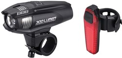 Image of BBB Strike Combo 300lumen Front & Rear Light Set
