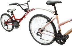 Image of Barracuda Trail Buddy 6 Speed Trailer Folding Bike