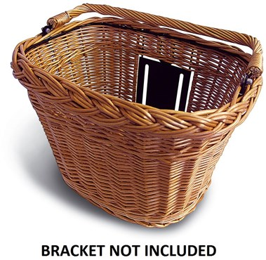 Image of Basil BaSimply Wicker Front Basket (Bracket NOT Included)