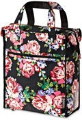 Image of Basil Blossom Roses Shopper Bag