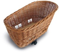 Image of Basil Pasja Rear Wicker Pet Basket
