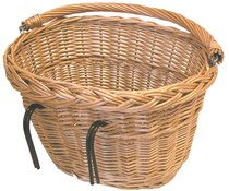 Image of Basil Wicker Oval Hook-On Front Basket