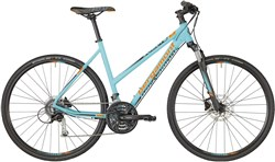 Image of Bergamont Helix 5.0 Womens 2018 Hybrid Bike