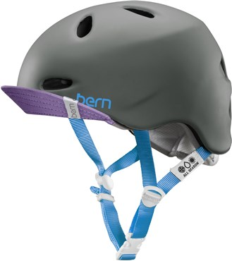 Image of Bern Berkeley Zipmold Womens Cycling Helmet with Flip Visor 2015