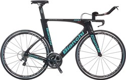 Image of Bianchi Aquila CV Ultegra 2017 Triathlon Bike