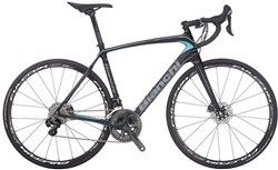 Image of Bianchi Infinito CV Disc - Ultegra Mix Compact 2017 Road Bike