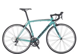 Image of Bianchi Via Nirone 7 - Claris Mix Compact 2017 Road Bike