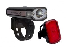 Image of Blackburn Central 200 Front + Click USB Rear Light Set