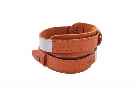 Image of Bobbin Leather Trouser Bands