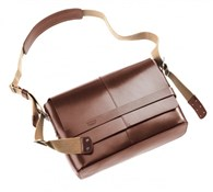 Image of Brooks Barbican Leather Shoulder Bag