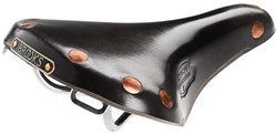 Image of Brooks Team Pro-S Special Chrome Ladies Saddle