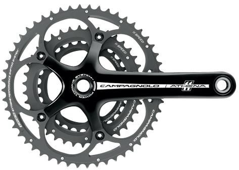 Image of Campagnolo Athena 11x Triple Power-Torque Chainsets