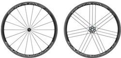 Image of Campagnolo Bora One 35 Dark Label Clincher Wheels