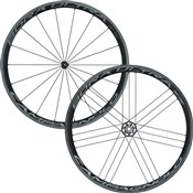 Image of Campagnolo Bora Ultra 35 Dark Label Tubulars Road Wheelset