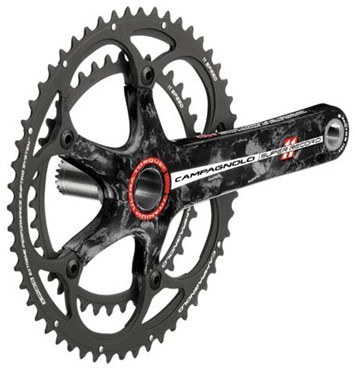Image of Campagnolo Super Record 11x Ultra-Torque Ti-Carbon Chainsets