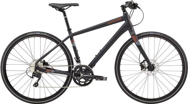 Image of Cannondale Quick 1 Disc 2017 Hybrid Bike