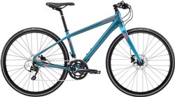 Image of Cannondale Quick 1 Disc Womens 2017 Hybrid Bike