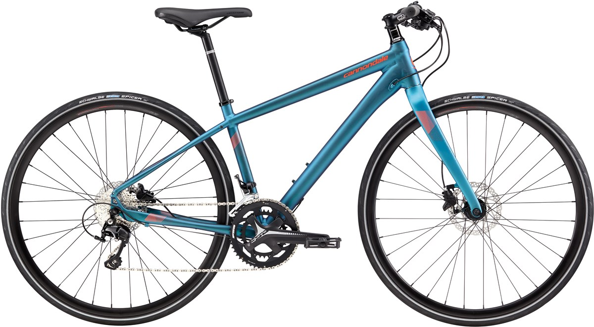 Cannondale Quick 1 Disc Womens 2017 Hybrid Bike
