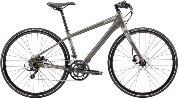 Image of Cannondale Quick 3 Disc Womens 2017 Hybrid Bike