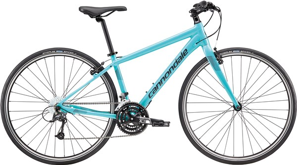 Image of Cannondale Quick 4 Womens 2017 Hybrid Bike